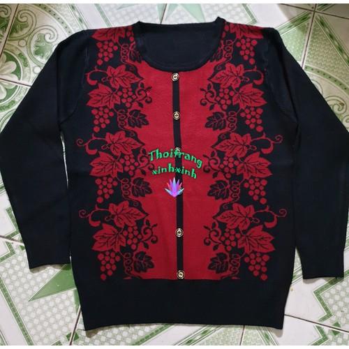 Áo len trung niên in hoa đẹp màu đỏ đô - 16971369 , 12616322 , 15_12616322 , 230000 , Ao-len-trung-nien-in-hoa-dep-mau-do-do-15_12616322 , sendo.vn , Áo len trung niên in hoa đẹp màu đỏ đô