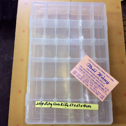 Hộp đựng 36 ngăn tiện dụng