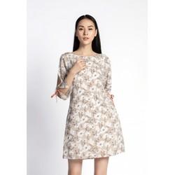 De Leah - Đầm Suông Tay Lỡ Xẻ - Thời trang thiết kế