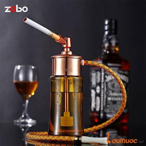 Tẩu hút thuốc lọc nước bình thủy tinh chính hãng ZOBO ZB 518 vàng đồng - 6101017 , 12630082 , 15_12630082 , 320000 , Tau-hut-thuoc-loc-nuoc-binh-thuy-tinh-chinh-hang-ZOBO-ZB-518-vang-dong-15_12630082 , sendo.vn , Tẩu hút thuốc lọc nước bình thủy tinh chính hãng ZOBO ZB 518 vàng đồng
