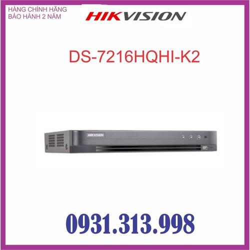 Đầu ghi hình HIKVISION 16 kênh DS-7216HQHI-K2