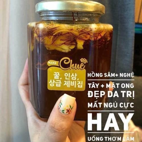 Sâm mật ong nhụy nghệ tây Saffron Mama Chuê Hàn Quốc