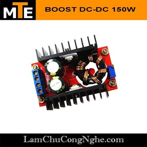 Mạch tăng áp DC 150W 10 - 32v to 12 - 35v có thể sạc laptop từ acquy - Module Boost - 10896820 , 12619463 , 15_12619463 , 55000 , Mach-tang-ap-DC-150W-10-32v-to-12-35v-co-the-sac-laptop-tu-acquy-Module-Boost-15_12619463 , sendo.vn , Mạch tăng áp DC 150W 10 - 32v to 12 - 35v có thể sạc laptop từ acquy - Module Boost