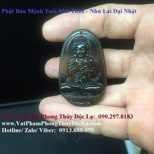 Phật Bản Mệnh Tuổi Mùi Thân - Như Lai Đại Nhật Xám Khói