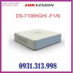 Đầu ghi hình HIKVISION 8 kênh DS-7108HGHI-F1-N