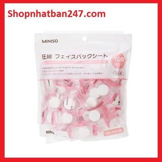 Gói mặt nạ Miniso 100 viên nén - Gói mặt nạ Miniso 100 viên nén thumbnail