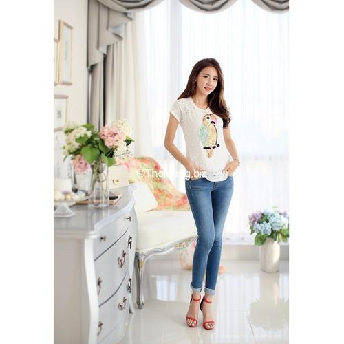 Quần jean nữ Hàn Quốc có size đại - 6090741 , 12615452 , 15_12615452 , 379000 , Quan-jean-nu-Han-Quoc-co-size-dai-15_12615452 , sendo.vn , Quần jean nữ Hàn Quốc có size đại
