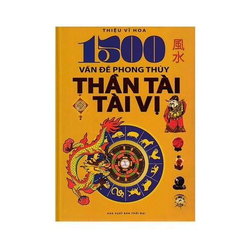 1500 vấn đề phong thủy thần tài, tài vị