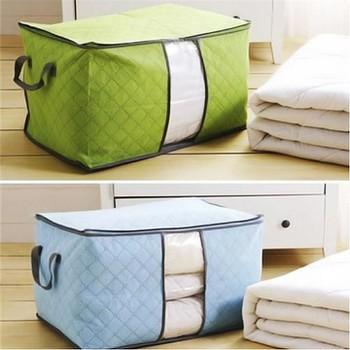 Combo 3 túi vải không dệt đựng quần áo chăn màn đa năng