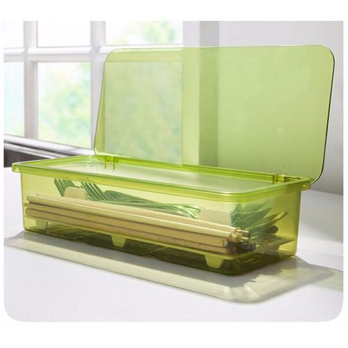 Combo 5 hộp nhựa chopsticks đựng muỗng đũa
