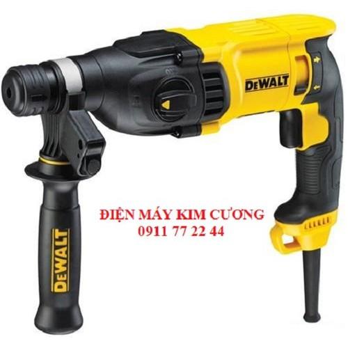 Máy khoan búa 800W Dewalt D25143K