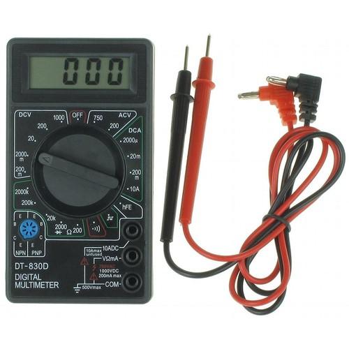 Đồng hồ đo vạn năng DT830D có loa báo thông mạch
