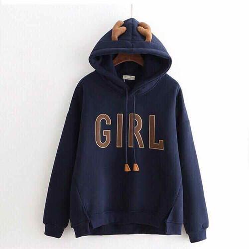 áo khoác hoodie nỉ ngoại nai