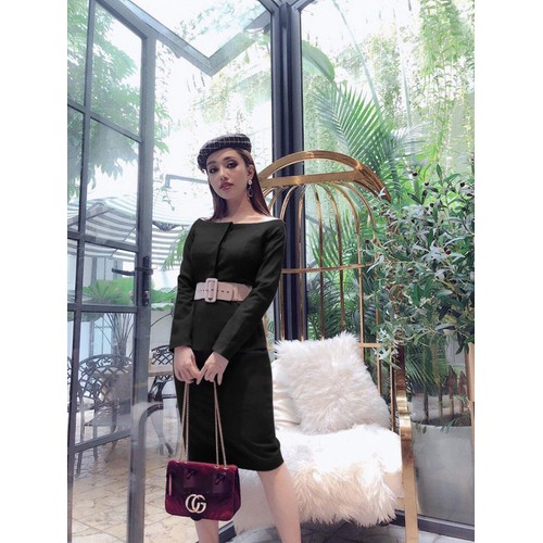 Đầm peplum công sở thanh lịch - Size M, L