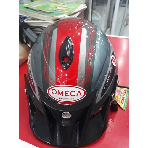 Mũ bảo hiểm Omega bóng - 6375663 , 12987695 , 15_12987695 , 287000 , Mu-bao-hiem-Omega-bong-15_12987695 , sendo.vn , Mũ bảo hiểm Omega bóng