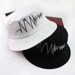 mũ bucket nhịp tim, nón tai bèo