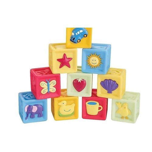 Set 10 khối vuông phát triển giác quan cho bé sơ sinh từ 0m+