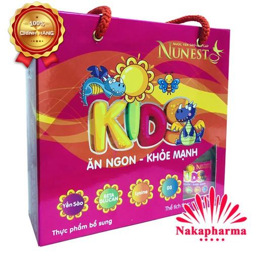 ✅ [CHÍNH HÃNG] Lốc Nước Yến Sào Cao Cấp NuNest Kids – Làm từ tổ yến thiên nhiên, giúp bé ăn ngủ ngon, mau lớn, tăng cường sức khỏe - 6365611 , 12973579 , 15_12973579 , 185000 , -CHINH-HANG-Loc-Nuoc-Yen-Sao-Cao-Cap-NuNest-Kids-Lam-tu-to-yen-thien-nhien-giup-be-an-ngu-ngon-mau-lon-tang-cuong-suc-khoe-15_12973579 , sendo.vn , ✅ [CHÍNH HÃNG] Lốc Nước Yến Sào Cao Cấp NuNest Kids – Làm