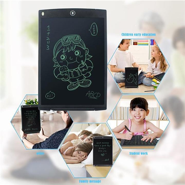 Bảng viết tự xoá, bảng vẽ điện tử LCD - Bảng điện tử thông minh 6