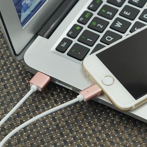 Cáp Sạc Nam Châm 2 In 1 dùng Cho Điện Thoại IPhone và Andoid