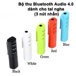 Bộ Thu Bluetooth Audio 4 0 Dành Cho Tai Nghe 3 Nút Nhấn - dc2407. thumbnail