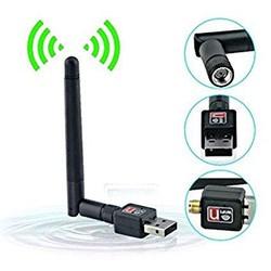 usb wifi-bộ thu sóng wifi cho máy tính laptop tốc độ 150mb, thiết bị thu wifi