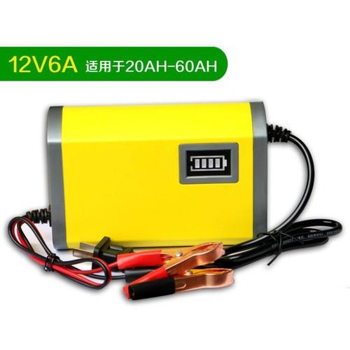 Bộ sạc bình ắc quy thông minh tự ngắt 12V-6A cho ô tô , xe máy - 6509680 , 13154999 , 15_13154999 , 170000 , Bo-sac-binh-ac-quy-thong-minh-tu-ngat-12V-6A-cho-o-to-xe-may-15_13154999 , sendo.vn , Bộ sạc bình ắc quy thông minh tự ngắt 12V-6A cho ô tô , xe máy