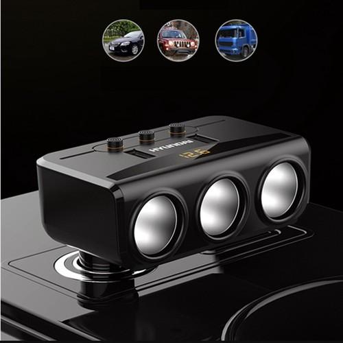 Bộ chia tẩu sạc oto, xe hơi cao cấp 3 tẩu - 2 cổng USB Có LED - 6373671 , 12984989 , 15_12984989 , 289000 , Bo-chia-tau-sac-oto-xe-hoi-cao-cap-3-tau-2-cong-USB-Co-LED-15_12984989 , sendo.vn , Bộ chia tẩu sạc oto, xe hơi cao cấp 3 tẩu - 2 cổng USB Có LED