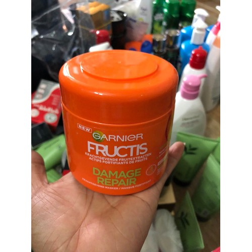 Kem ủ tóc Garnier Fuctics 300ml - 6365345 , 12973422 , 15_12973422 , 300000 , Kem-u-toc-Garnier-Fuctics-300ml-15_12973422 , sendo.vn , Kem ủ tóc Garnier Fuctics 300ml