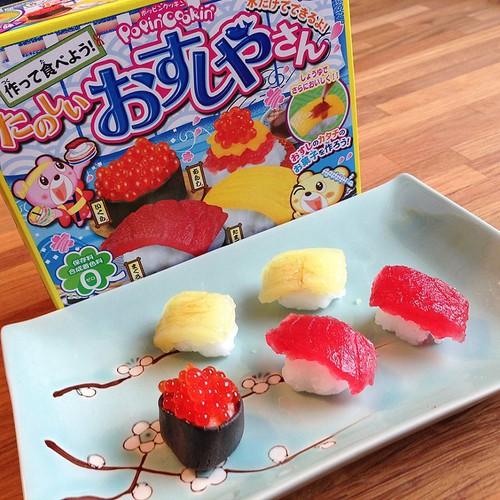 Popin cookin bộ làm sushi cho bé Nhật Bản