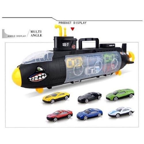 Bộ đồ chơi tàu ngầm cá mập chở 6 ô tô - 6371049 , 12980579 , 15_12980579 , 185000 , Bo-do-choi-tau-ngam-ca-map-cho-6-o-to-15_12980579 , sendo.vn , Bộ đồ chơi tàu ngầm cá mập chở 6 ô tô
