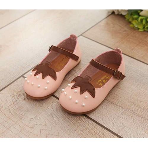 Giày búp bê trái dâu