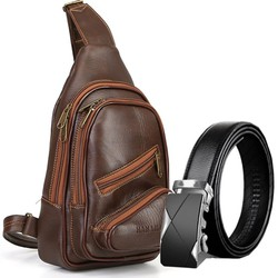 Túi đeo chéo da cao cấp HANAMA S17 - TẶNG TGB