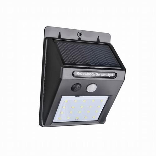 Đèn LED năng lượng mặt trời sân vườn, đèn led ngoài trời cảm ứng