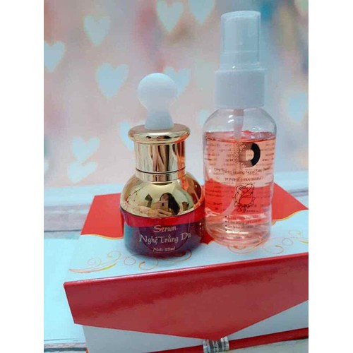 combo serum nước hoa hồng nghệ hoàng Ngọc diệp trắng da dưỡng ẩm - 6383129 , 12997837 , 15_12997837 , 300000 , combo-serum-nuoc-hoa-hong-nghe-hoang-Ngoc-diep-trang-da-duong-am-15_12997837 , sendo.vn , combo serum nước hoa hồng nghệ hoàng Ngọc diệp trắng da dưỡng ẩm