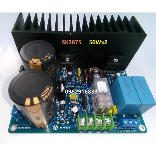 Bo mạch khuếch đại âm thanh 2.0 chất lượng cao SK3875 50Wx2 - 6390387 , 13006911 , 15_13006911 , 790000 , Bo-mach-khuech-dai-am-thanh-2.0-chat-luong-cao-SK3875-50Wx2-15_13006911 , sendo.vn , Bo mạch khuếch đại âm thanh 2.0 chất lượng cao SK3875 50Wx2