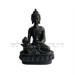 Tượng Đá Phật Thái N2 - Màu Đen
