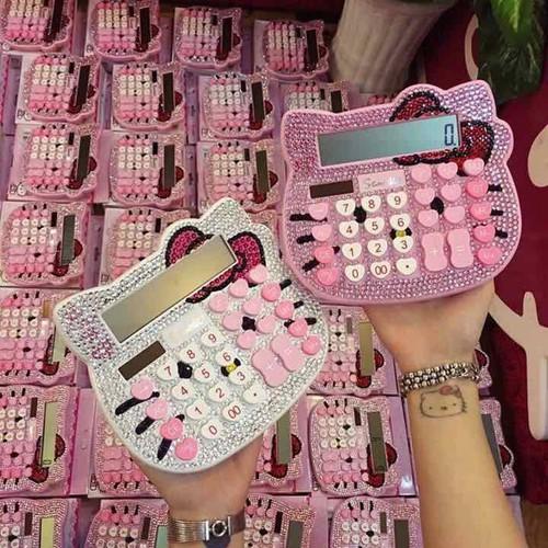 Máy tính Kitty hồng đính đá cực đẹp - 6384896 , 13000133 , 15_13000133 , 150000 , May-tinh-Kitty-hong-dinh-da-cuc-dep-15_13000133 , sendo.vn , Máy tính Kitty hồng đính đá cực đẹp