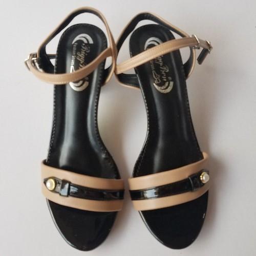 Dép Nữ Quai Hậu Sandal Cao Gót Thời Trang - G5589