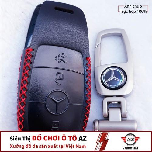 Bao Da Bọc Chìa Khóa Xe Ô Tô Mercedes-Benz E, S Đời Mới