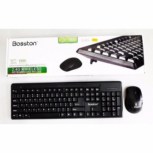 Bộ bàn phím và chuột không dây Bosston Q1905 Đen - 6385308 , 13000714 , 15_13000714 , 229000 , Bo-ban-phim-va-chuot-khong-day-Bosston-Q1905-Den-15_13000714 , sendo.vn , Bộ bàn phím và chuột không dây Bosston Q1905 Đen
