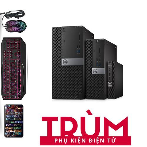Dell 3040 SFF I3 6100.Ram 12GB.SSD 240GB.HDD 2TB