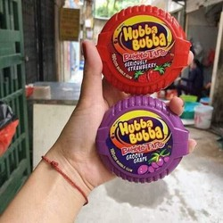 2 hộp kẹo cao su hubba