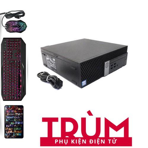 Dell 3040 SFF I5 6500.Ram 12GB.SSD 240GB.HDD 3TB