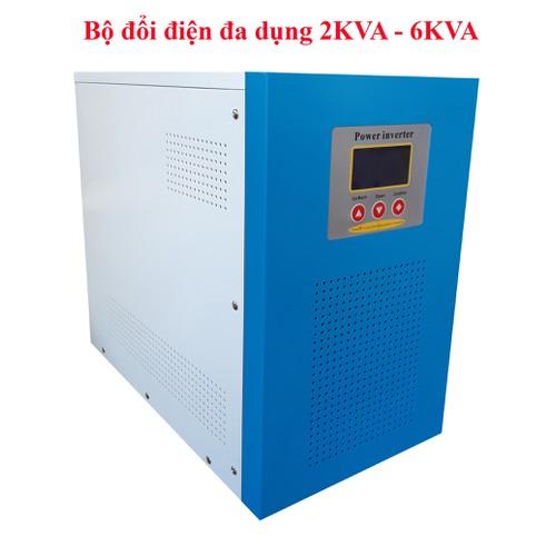 Bộ đổi điện đa dụng 4000W 24V sang 220V