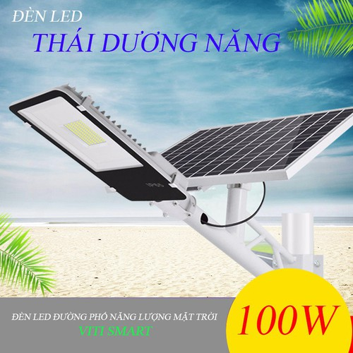 Đèn Led đường phố năng lượng mặt trời 100W - VITI SMART - 6470202 , 13103907 , 15_13103907 , 2285000 , Den-Led-duong-pho-nang-luong-mat-troi-100W-VITI-SMART-15_13103907 , sendo.vn , Đèn Led đường phố năng lượng mặt trời 100W - VITI SMART