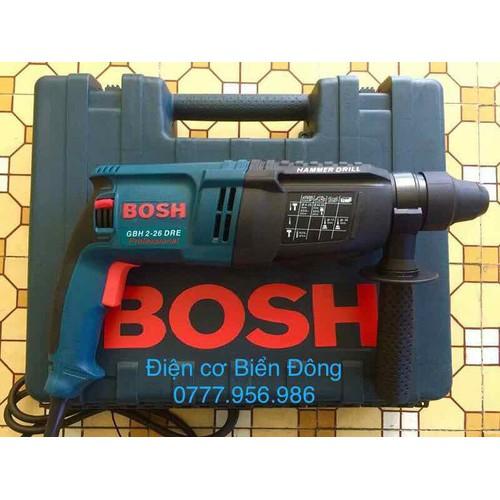 Máy khoa BOSH 2-26 DRE hộp lớn 3 chức năng khoan bê tông