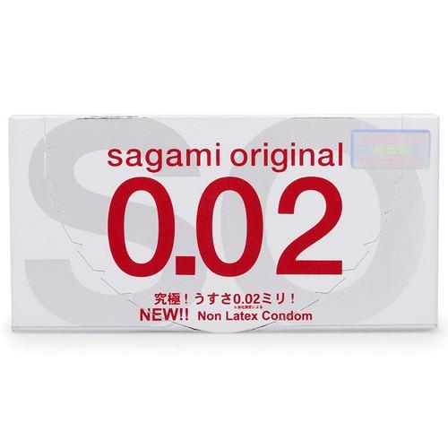 Bao cao su Sagami Original 0.02 hộp 2 chiếc siêu mỏng - 6378369 , 12991295 , 15_12991295 , 70000 , Bao-cao-su-Sagami-Original-0.02-hop-2-chiec-sieu-mong-15_12991295 , sendo.vn , Bao cao su Sagami Original 0.02 hộp 2 chiếc siêu mỏng