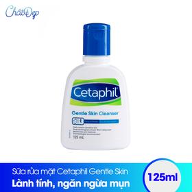 Sữa rửa mặt Cetaphil 125ml - Gentle Skin Cleanser - MP00034BS.01