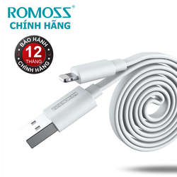 Cáp sạc iPhone iPad Lightning Romoss CB12F - Hãng phân phối chính thức